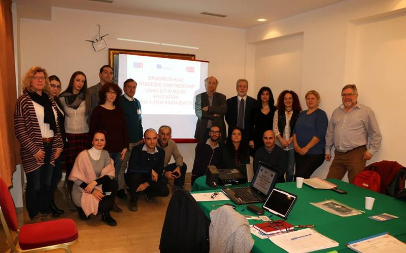 Kick-off Meeting of the Using ICT in Music Education project