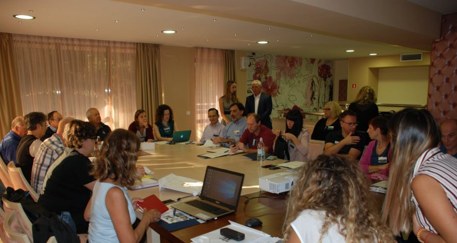 The third transnational meeting of the project AAC@school for social inclusion in Blagoevgrad