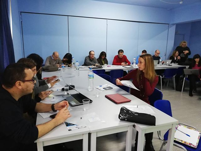 Short-term joint staff training of AAC@school project