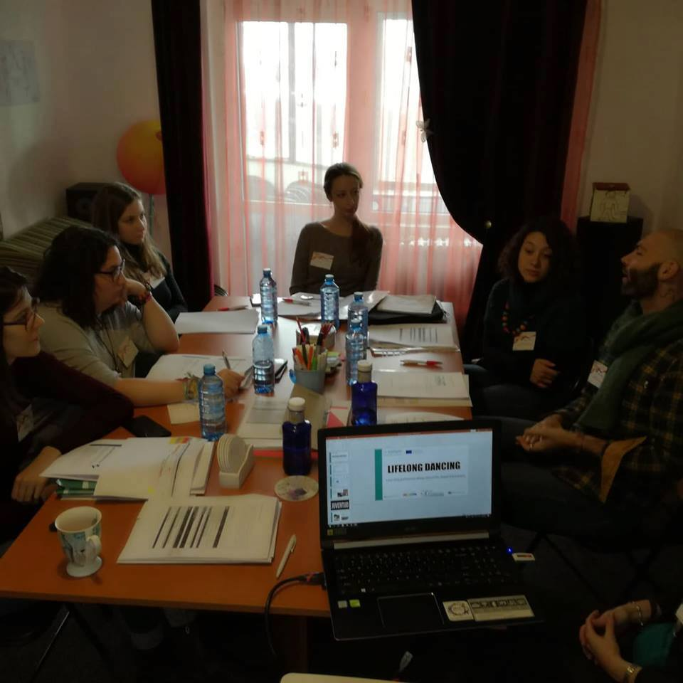 Kick off meeting of the project Lifelong Dancing