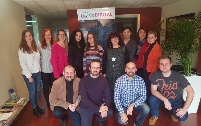 GoDIGITAL Short-term joint staff training