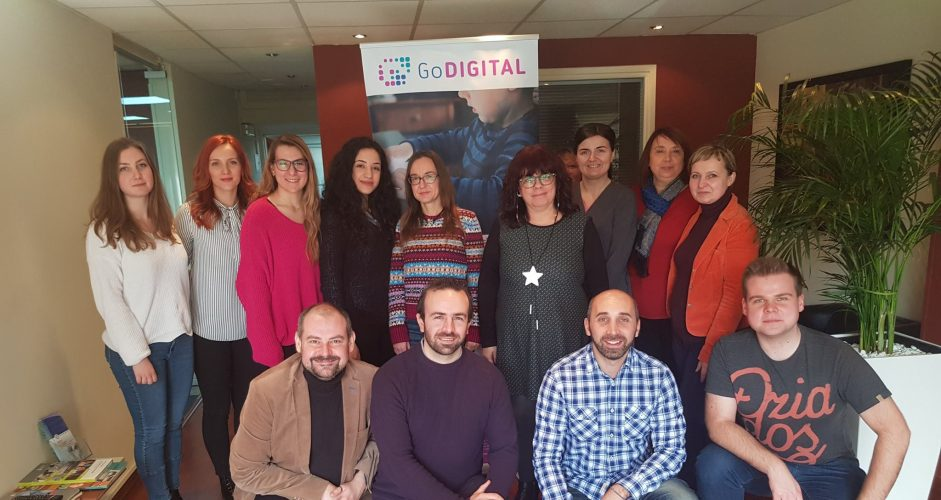 GoDIGITAL Short-term joint staff training