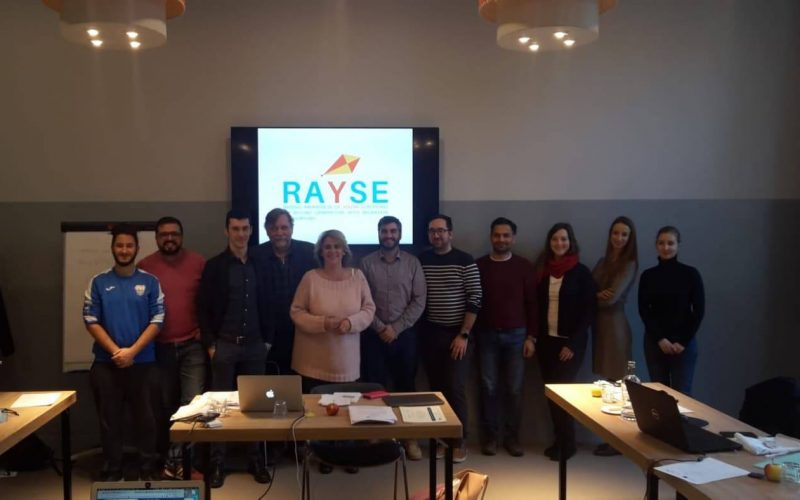 Kick-off meeting of the Project RAYSE