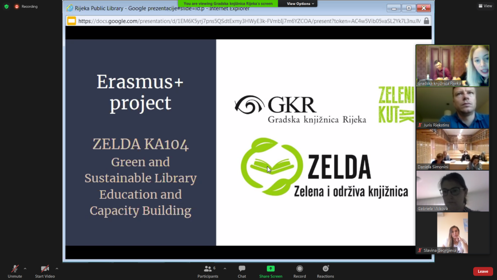 """Kick-off meeting of the project """"The Third Reading Age"""""""
