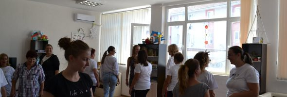 Dance Therapy and Expressive Methods Workshops for adult educators